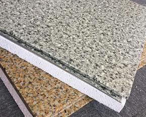 簿石材保温装饰一体化板